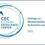"""Read more about the article Umfrageergebnisse zur """"Marktentwicklung in der Technischen Sauberkeit 2021"""" ab sofort erhältlich"""